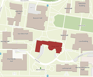 Campus map birge hall